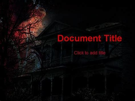 scary powerpoint templates powerpoint templates free horror carisoprodolpharm