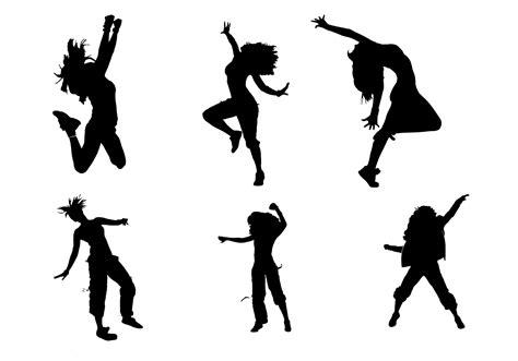 silhouette vector zumba silhouette vectors download free vector art stock