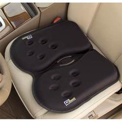Driving Seat Cushions The All Day Portable Gel Seat Hammacher Schlemmer