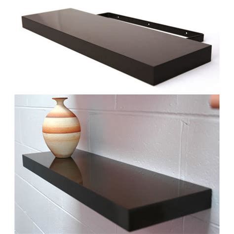 Gloss Black Floating Shelf by Floating Shelf In Black High Gloss Temple Webster