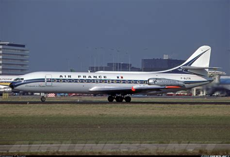 sec section 10b sud se 210 caravelle iii air france aviation photo
