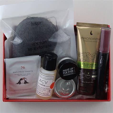Shoo Shiseido Professional makeup box subscriptions 2016 makeup vidalondon