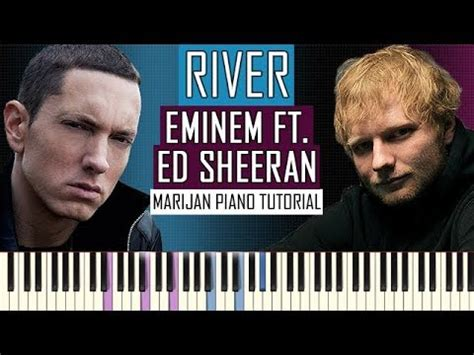 ed sheeran ft how to play eminem ft ed sheeran river piano