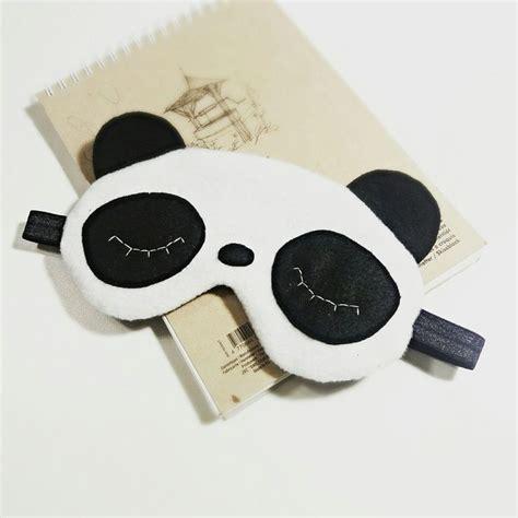 Panda Sleeping Mask best 25 sleep mask ideas on sleeping mask diy