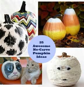 25 awesome no carve pumpkin ideas diy cozy home