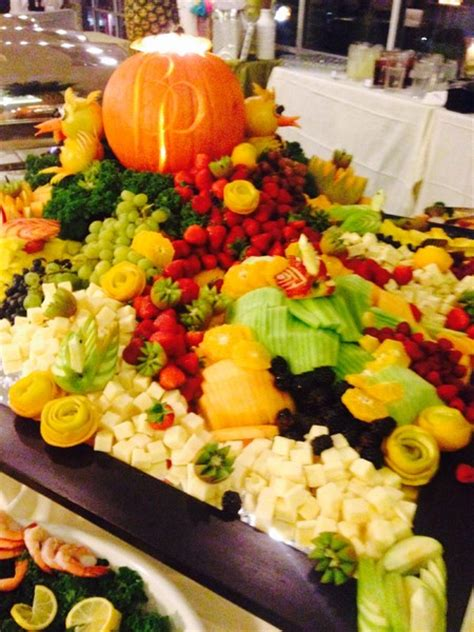 fruit and cheese display garden inn raleigh cary cary nc wedding venue