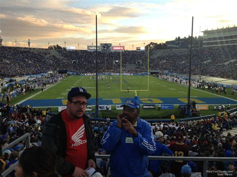 section 11 football rose bowl stadium section 11 ucla football