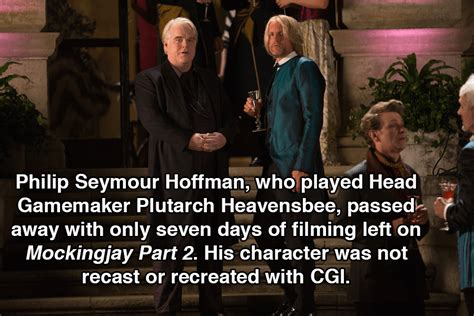 philip seymour hoffman facts hunger games facts 31 things even superfans won t know