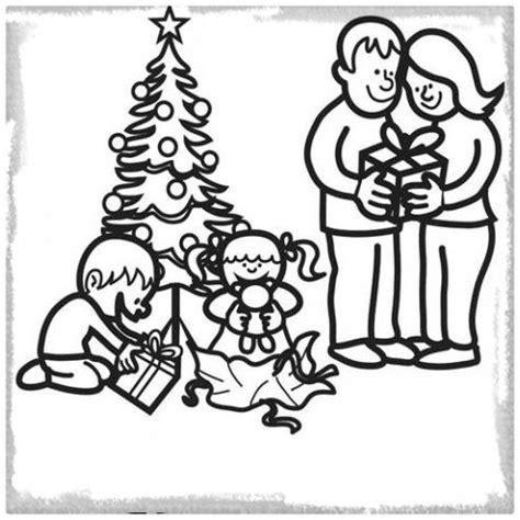 imagenes de navidad para la familia y amigos dibujos para colorear de una familia en navidad archivos