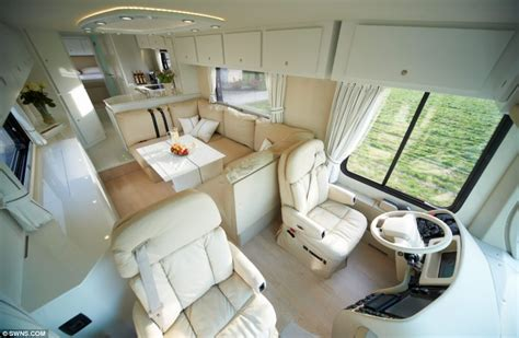 Luxury Bathroom Fittings Uk The 163 1 2million Motorhome With A State Of The Art Kitchen