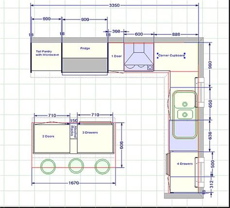 galley kitchen with island floor plans kitchen blueprints floor plan the challenger 2 kitchen