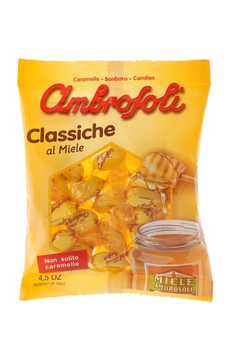 carbohydrates g kg classiche al miele ambrosoli