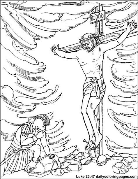 Free Religious Easter Coloring Pages Coloring Home Bible Easter Coloring Pages