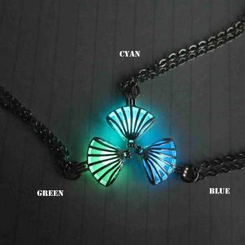 glow in the jewelry paint free shipping green brass plated glow in the celtic
