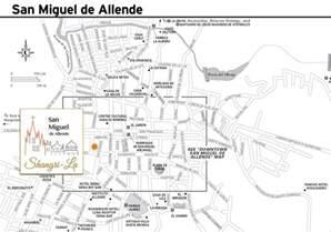 map for rent shangri la in san miguel de allende mexico