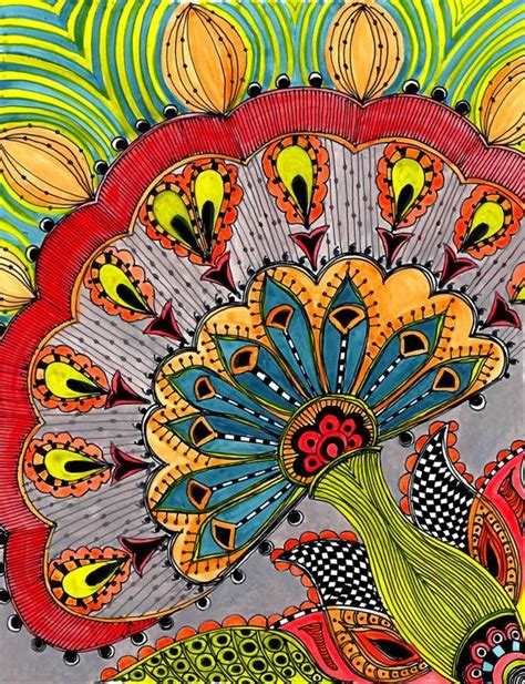 acrylic painting zentangle 17 best images about zentangles and doodles 2 on