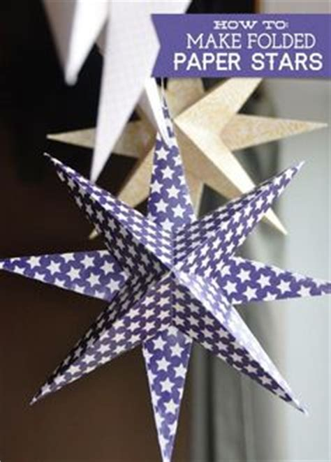 How To Make A Paper Moravian - 12 point paper moravian craft project pattern and