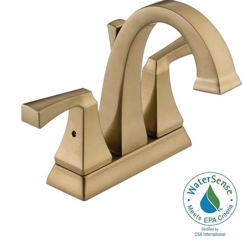 delta dryden bathroom faucet delta dryden 4 in centerset 2 handle bathroom faucet with