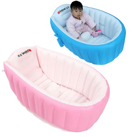 infant inflatable bathtub inflatable baby bathtub portable baby swimming pool