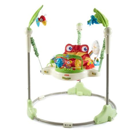 babies r us swing bouncer fisher price rainforest jumperoo new