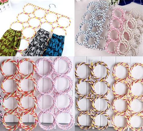 Garment Hanger Rak Gantung Pakaian hanger gantung syal jilbab dengan 28 gantungan grosir