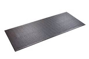 supermats heavy duty p v c mat for treadmills ski machine