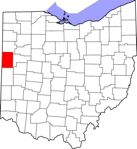 Mercer County Search National Register Of Historic Places Listings In Mercer County Ohio