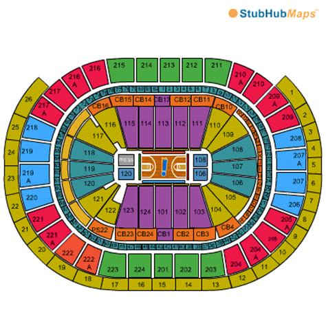 wells fargo center floor plan wells fargo center seating chart pictures directions