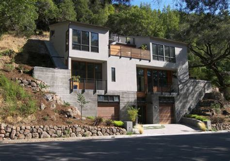 steep slope house plans steep hillside house plans