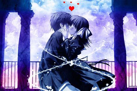imagenes de amor en anime anime amor wallpaper
