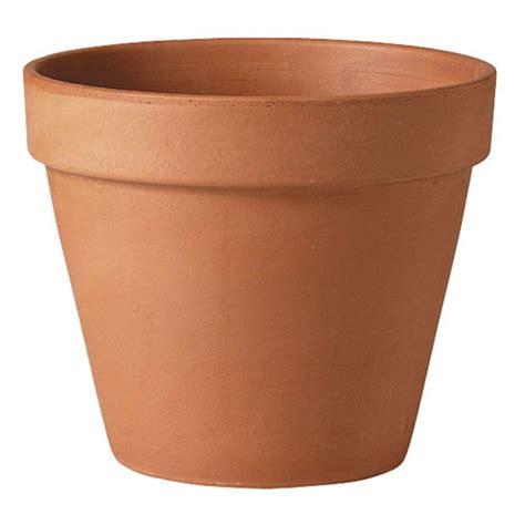 vasi deroma deroma 18 1 2 in terra cotta standard clay pot t dr