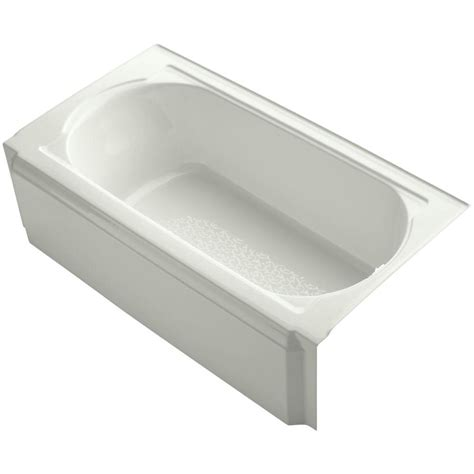 bootzcast bathtub bootz industries bootzcast 5 ft left drain soaking tub in