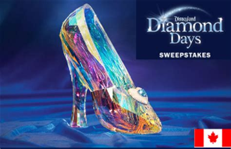 Ventura Online International Email Sweepstakes - disney win one cinderella glass slipper package and a trip giveawayus com