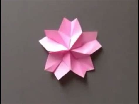 How To Make Cherry Blossoms Out Of Paper - how to make a origami petals of a beautiful cherry tree