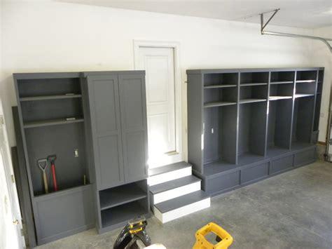 Lockers For Garage Storage by Custom Built Storage Lockers Newton Ma Traditional