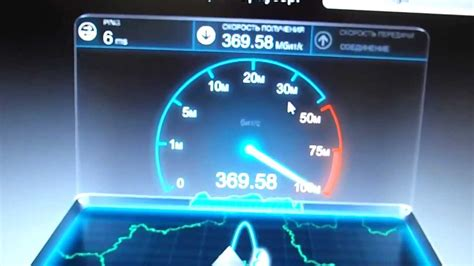 spedi test speedtest of 1 gigabit connection замер