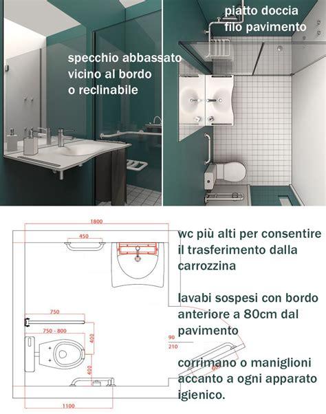 arredo bagno per disabili progetto d arredo di un bagno per disabili a casa di ro