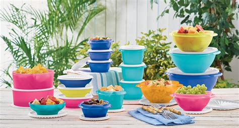 Tuppewere Summer shop tupperware