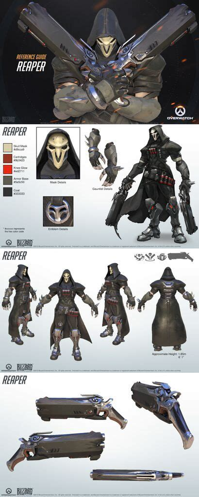 libro overwatch world guide overwatch reaper reference guide concept art follow me design and dr who