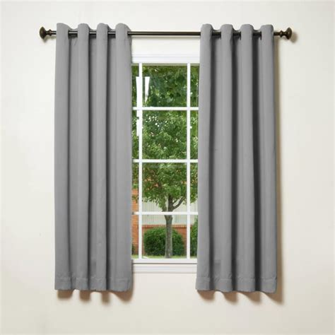 average length of curtains thermal curtains 63 inch length window treatment