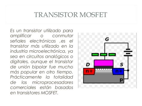 transistor mosfet comun transistores