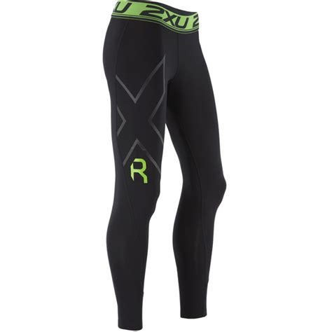 Celana 2xu Compression Tights For Size S Black wiggle 2xu s refresh recovery tights compression base layers