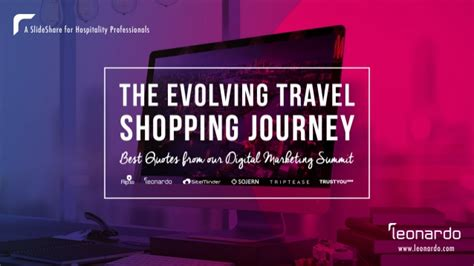 evolving travel shopping journey  quotes