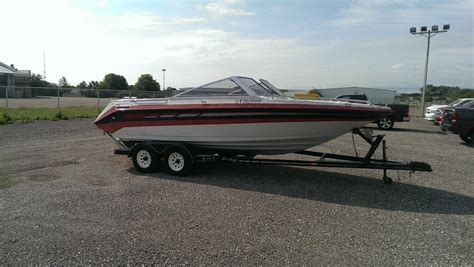 used heritage boat trailers mariah 2150z boat with heritage trailer 1991 for sale for