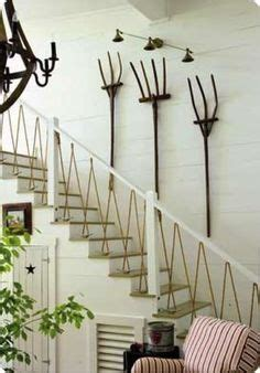 rope banisters for stairs stair railings from navy ropes interior design pinterest stairs railings and