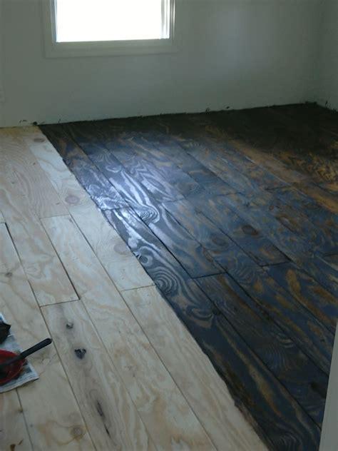 Flyover Farm Llc Diy House Project Plywood Floors