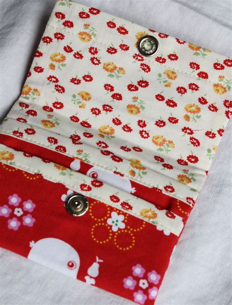 sewing pattern ease wallet pdf sewing pattern binski s studio