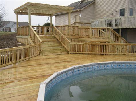 archadeck  ft wayne build  pool deck