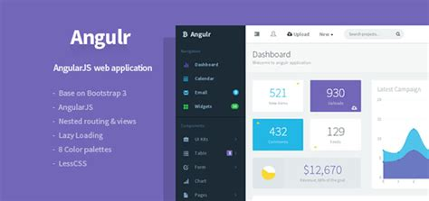 bootstrap themes discount code angulr v2 0 1 admin web application html template with