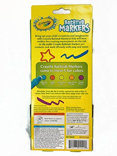 crayola bathtub markers crayola bathtub markers with 1 bonus extra markers and crayola bathtub crayons with 1
